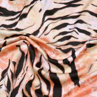 Satin Tiger - wollweiss/beige/lachs/schwarz (2.Wahl)