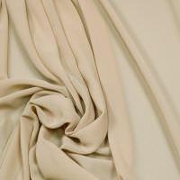 Crêpe Chiffon uni - beige