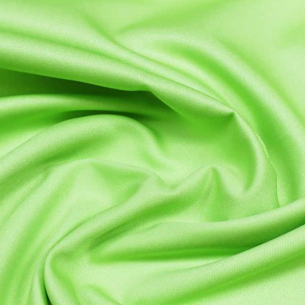 Viskose-Polyester Twill uni - lindgrün (2.Wahl)