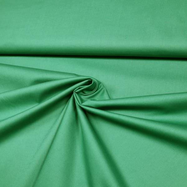 Stretch Baumwolle-Viskose Mix uni - grün (2.Wahl)