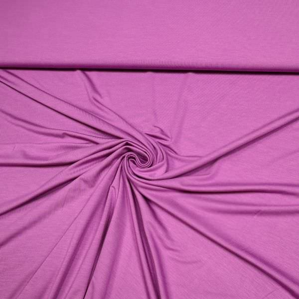 Viskosejersey uni - violett