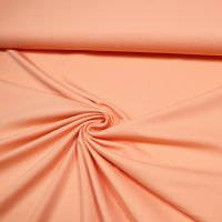 Punto Milano Power-Stretch Jersey uni - apricot