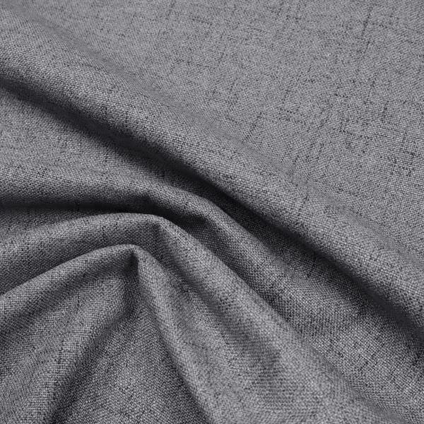 Polsterstoff / Möbelstoff grob gewebt & meliert - grau/schwarz