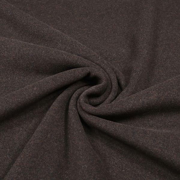 Mantelvelour Melange - braun/schwarz
