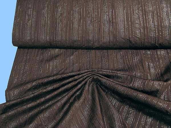 Blusen- und Kleiderstoff - braun