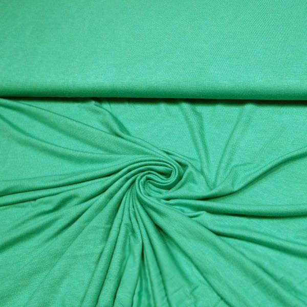 Feinstrick-Jersey uni - mintgrün