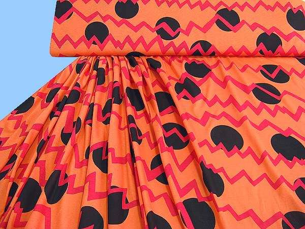 Viksokejersey - orange/rot/schwarz