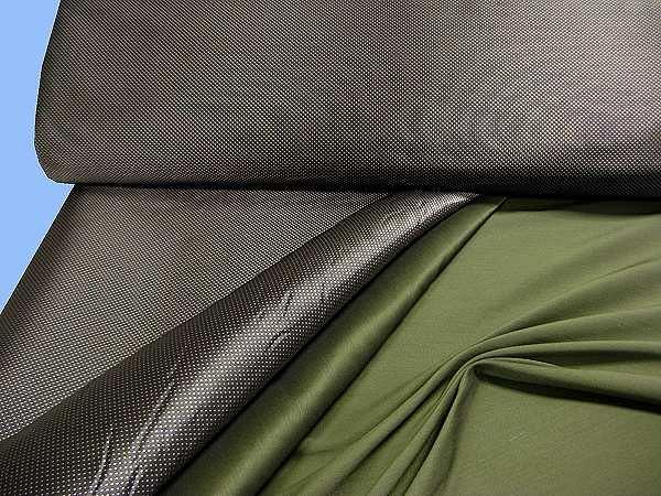 Jacken- und Kostümstoff - braun/grau/dunkelgrün