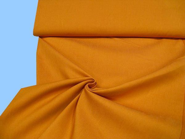 Jeansstoff - orange