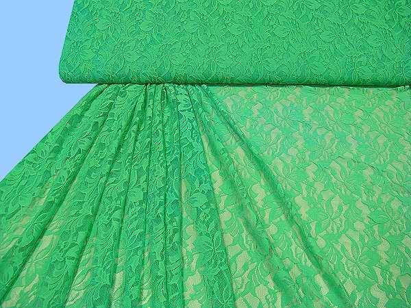 Spitze uni - grün