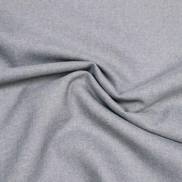 Hosen- und Kostümstoff uni - grau