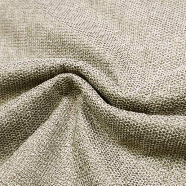 Polsterstoff / Möbelstoff grob gewebt & meliert - beige/schwarz