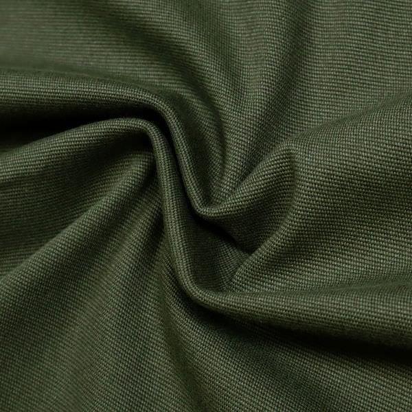 Stretch Baumwollstoff mit Struktur - dunkelgrün