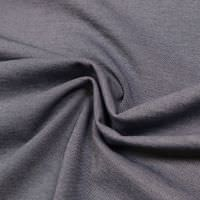 Punto Milano  Power-Stretch Jersey Melange - marineblau