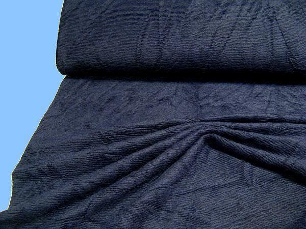 Strick uni - nachtblau