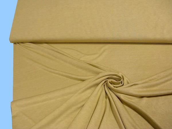 Feinjersey uni - beige