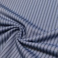 Feinstrick Streifen - blau/weiss/schwarz  Extra breit !