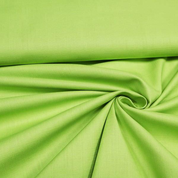 Stretch Leinen-Mix uni - lindgrün