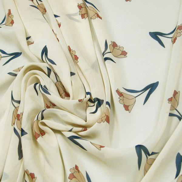 Chiffon Tulpen - beige/hellbraun/rosenholz
