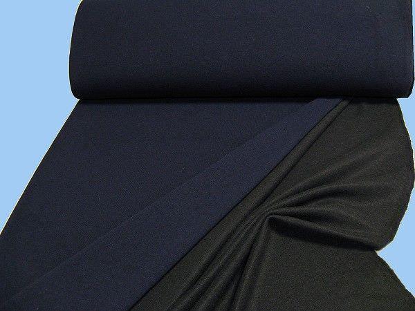 Feinstrick - nachtblau/schwarz