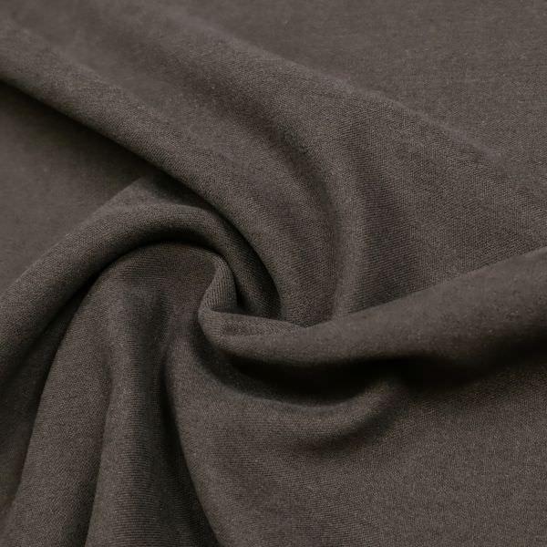 Jacken- und Kostümstoff uni - braun