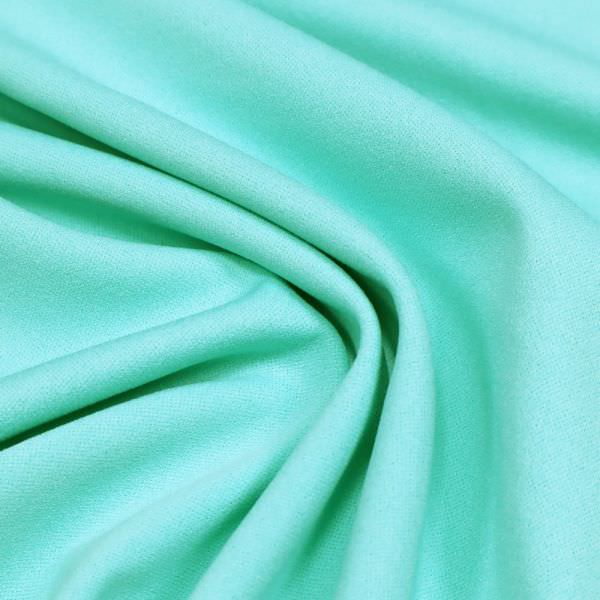 Powerstretch Crêpe-Jersey uni - mintgrün