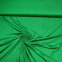 Viskosejersey uni - grün