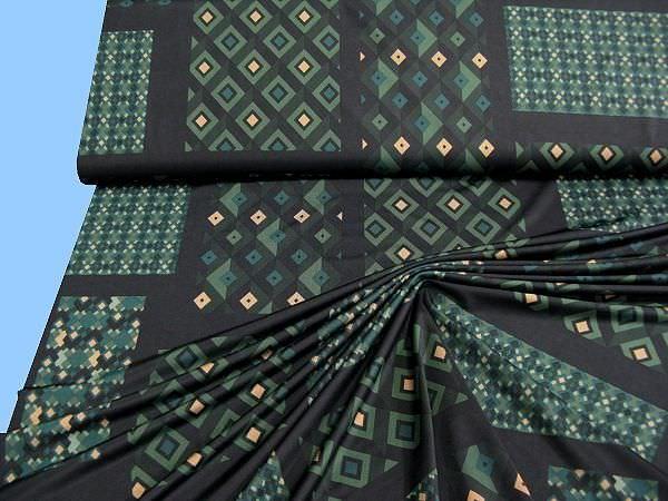 Slinky - schwarz/dunkelgrün/grün/beige