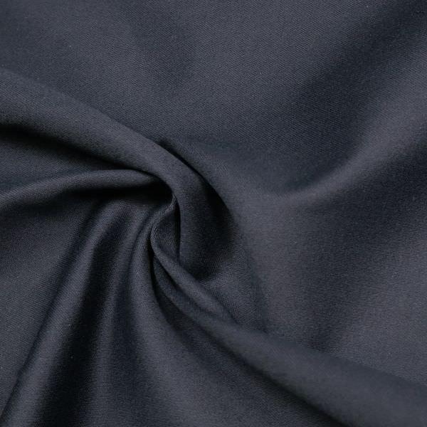 Baumwollstoff uni - marineblau