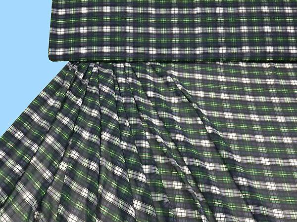 Georgette - apfelgrün/schwarz/weiss/blau/flieder/grün,
