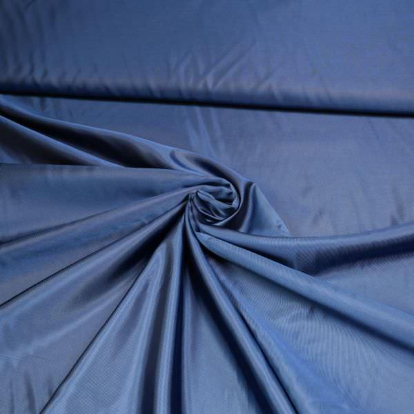 Viskose Futterstoff uni - blau