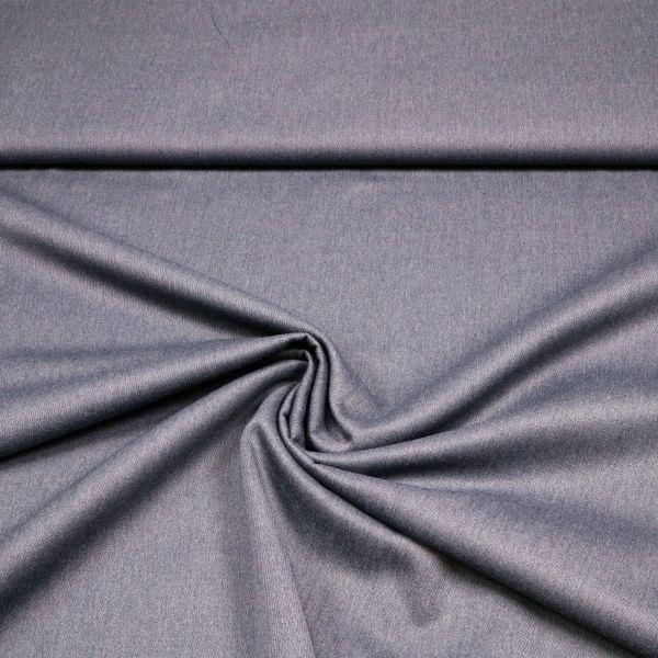 Mantel- und Jackenstoff mit Köperbindung Melange - taubenblau