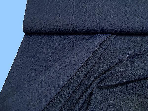 Jackenstoff uni - dunkelblau