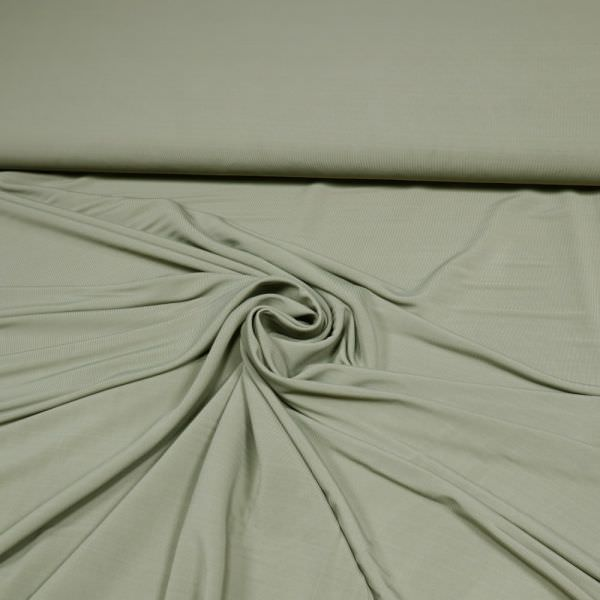 Slinky-Jersey uni - schilfgrün (2.Wahl)