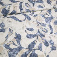 Baumwolljersey mit Fantasie-Motiv - wollweiss/beige/hellblau/dunkelblau/grau