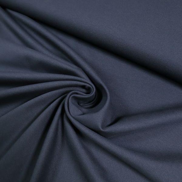 Powerstretch Jersey uni - marineblau