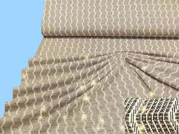 Feinstrick mit Lurex - wollweiss/gold/grau/schwarz