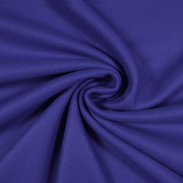 Wollstoff Melange - königsblau