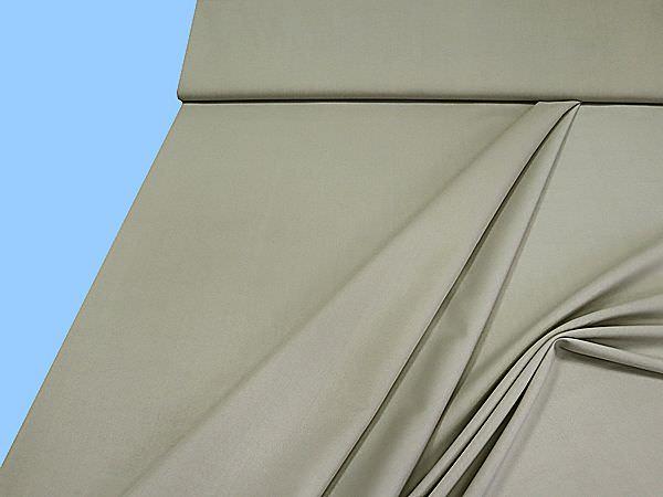 Hosen- und Kostümstoff uni - graubeige
