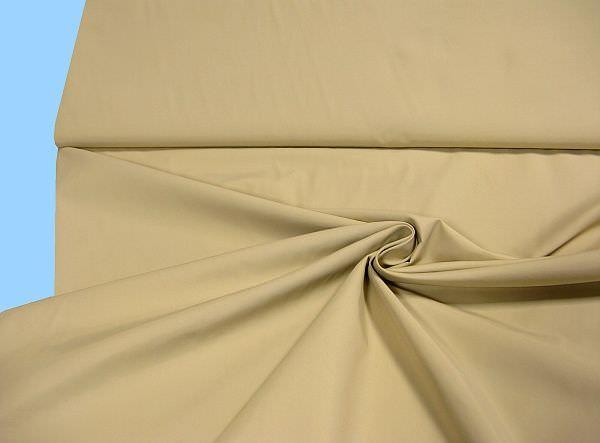 Jackenstoff uni - beige
