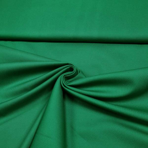Baumwolle-Polyester-Mix uni - grün