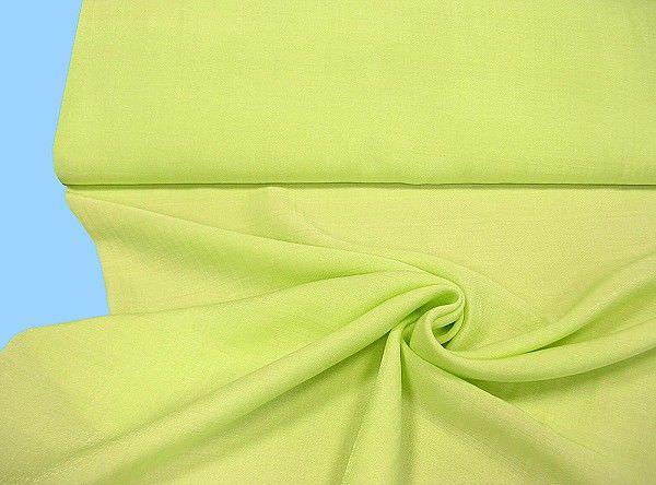 Blusen- und Kleiderstoff leicht kariert - lindgrün
