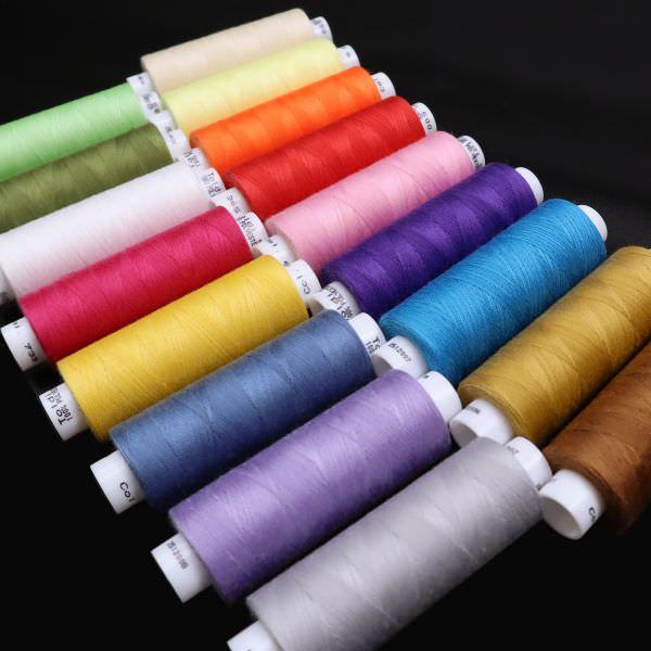 Nähgarn Toldi 500m verschiedene Farben