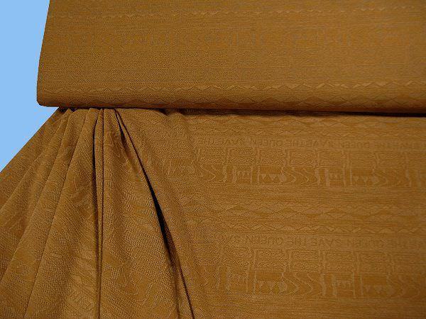 Feinjersey gemustert - braun