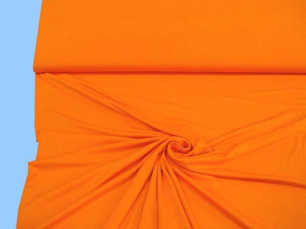 Feinjersey - orange