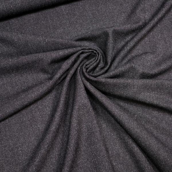 Hosen- und Kostümstoff Melange - anthrazit