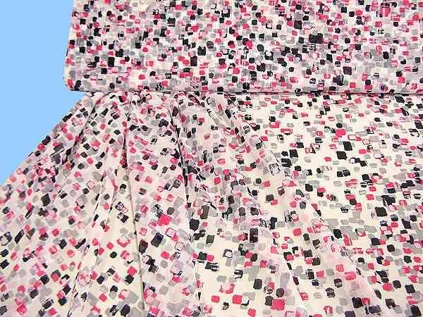Chiffon - weiss/rosé/pink/hellgrau/schwarz