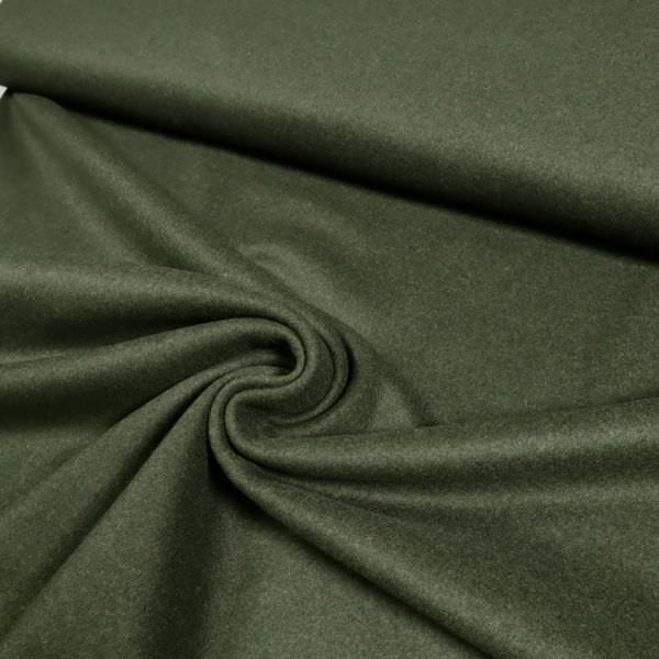"Walkloden ""Melange"" - dunkelgrün (Reststück- 3,2m)"