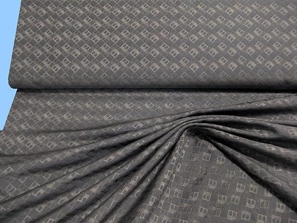 Kleider- und Kostümstoff - grau/ hellgrau