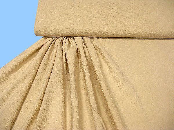 Kleider- und Jackenstoff - beige